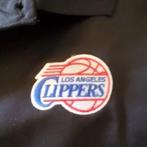 XL BLACK L A CLIPPERS POLO